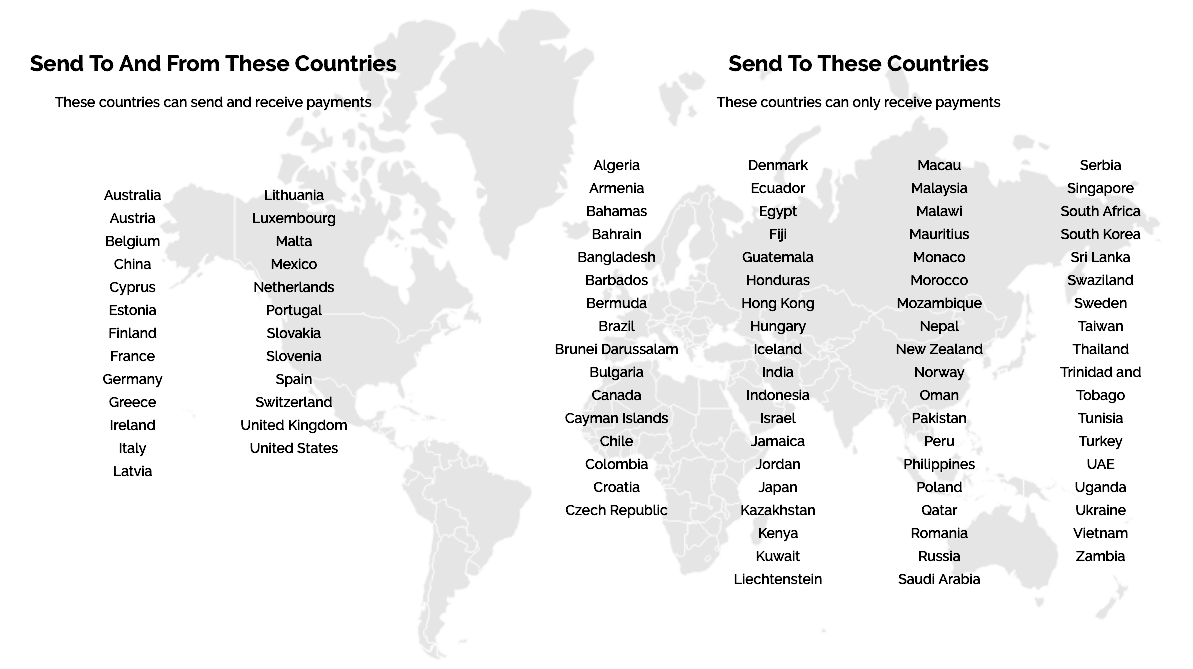 Veem Now In Over 95 Countries -2