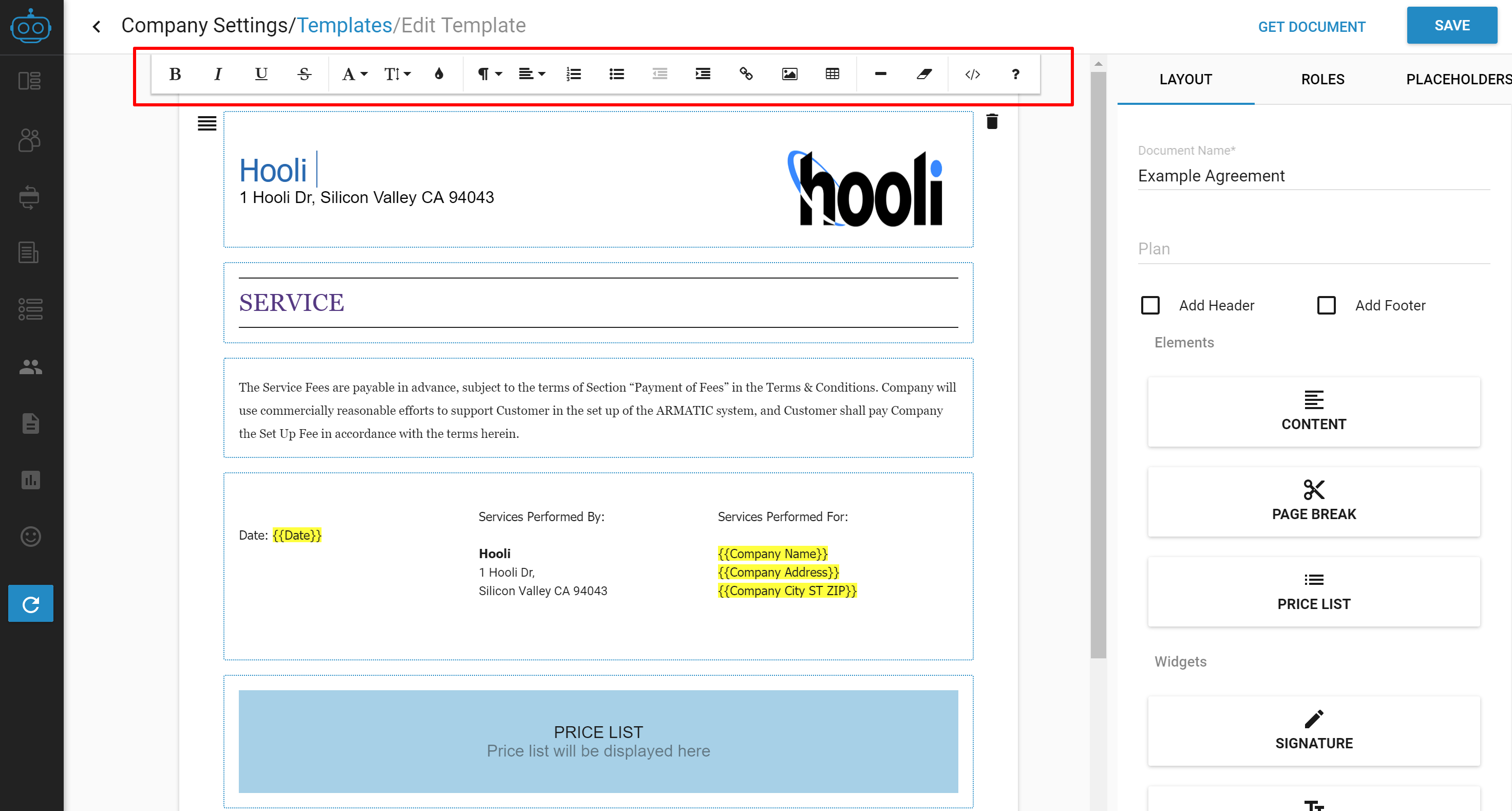 using templates for quotes documents emails